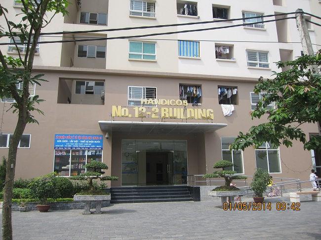 Tòa nhà Nơ 12-02 Khu đô thị Sài Đồng