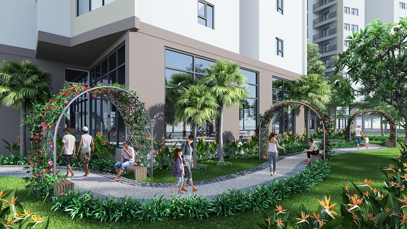 Tiện ích chung cư Le Grand Jardin Sài Đồng Long Biên