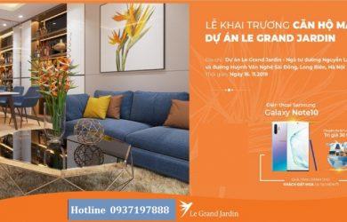 le-grand-jardin căn hộ mẫu