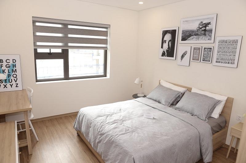 Phòng ngủ mẫu chung cư Le Grand Jardin